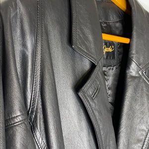 Jay Jacob's Full length Leather Coat